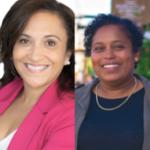 Two Black women MLAs, angela Simmonds and Suzy Hansen