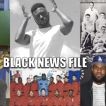 A collage of photos of Black people from the Black News File.