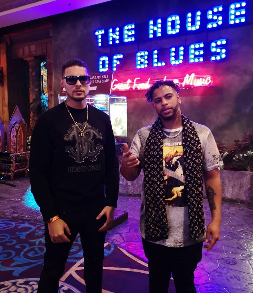 Andru Winter & Kaleb Simmonds say they're the only Nova Scotian artists to perform at The House of Blues in Las Vegas